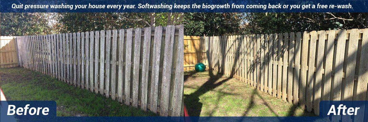 soft wash house washing daphne al