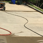 Softwashing in the Timber Creek Ssubdivision in Spanish Fort AL